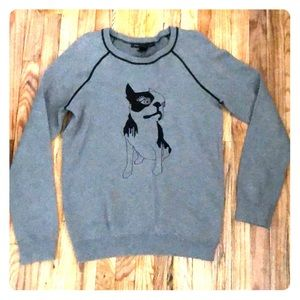 Marc by Marc Jacobs Boston Terrier Sweater Medium